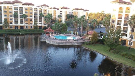 Floridays Resort Orlando: EN EL BALCON DE LA HABITACION