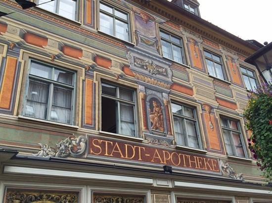 Altstadt von Fuessen: Apothecary building