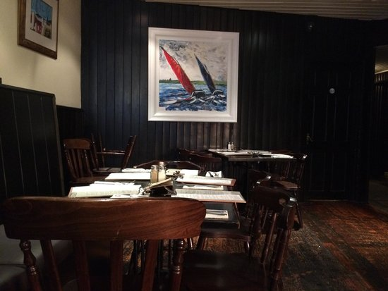 Mourne Seafood Bar: Top floor