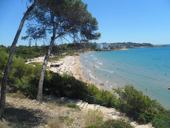Ohtels Villa Dorada: Пляж
