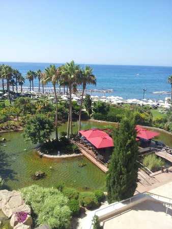 Parklane, A Luxury Collection Resort & Spa : Sea view from balcony - spectacular !