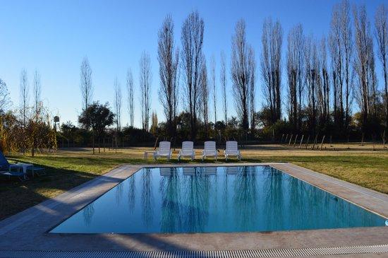 Villa Mansa Wine Hotel & Spa: the lovely outside pool
