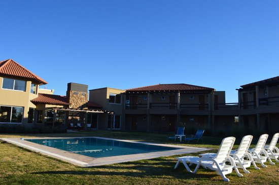 Villa Mansa Wine Hotel & Spa : with the hotel in the background