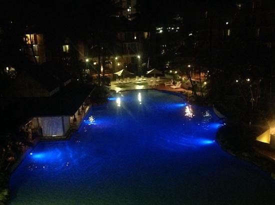 Novotel Cairns Oasis Resort: View from our room