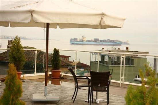 Almina Hotel: Terrace