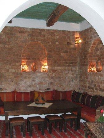 Riad Jade Mogador : Part of the dining area