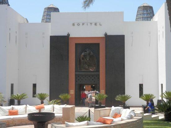 Sofitel Agadir Royal Bay Resort : Entrée de l'hôtel