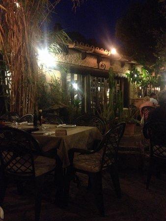 Sa Farinera: Evening meal