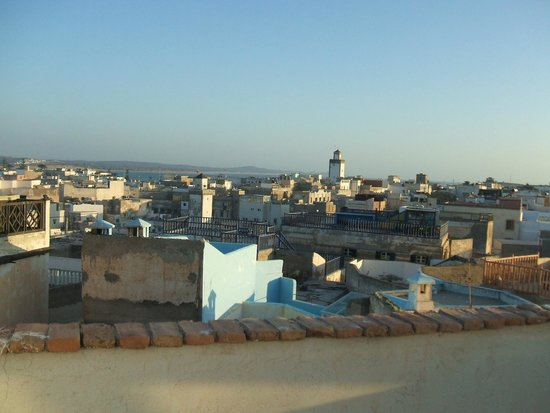 Riad Jade Mogador : View from the terrace