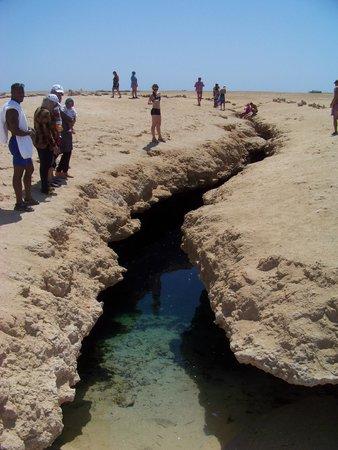 Ras Mohamed National Park: spaccatura da terremoto