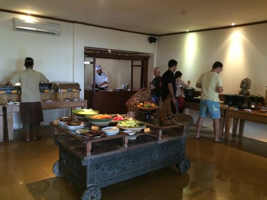 Alam KulKul Boutique Resort : Breakfast
