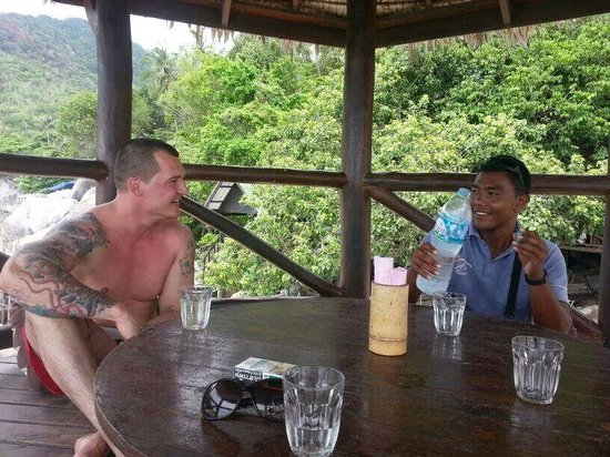 Samui Ocean Sports & Yacht Charter: lunch mit der netten crew