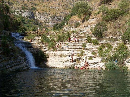 Cavagrande del Cassibile : laghetti