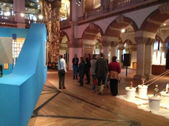 Tropenmuseum: Nice guided visit with colleagues