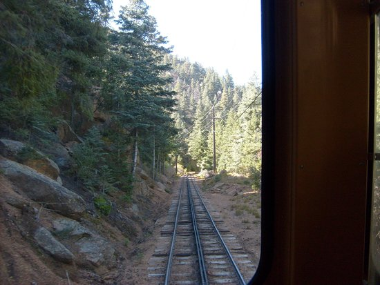 Pikes Peak Cog Railway : Starting at the bottom, just regular forests