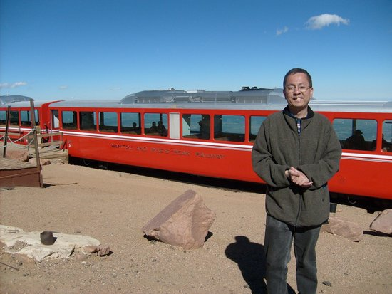 Pikes Peak Cog Railway: One of these will bring you to the top