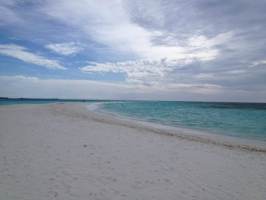 Kuredu Island Resort & Spa: Песчаная коса