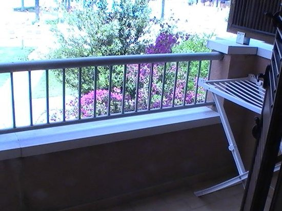 Otium Sibari Beach Resort: Balcone dalla camera 206