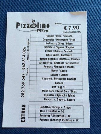 Pizzolino : The €7.90 Pizza