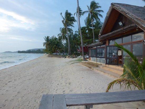 Lipa Lodge Beach Resort: Private beach