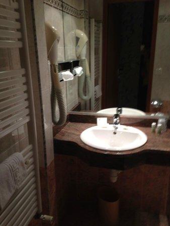 Best Western Hotel BeauSejour Lourdes: baño