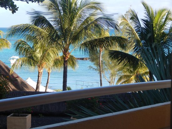 Merville Beach Hotel : View from room