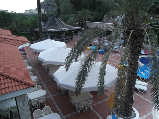 Flamingo Hotel : view from room