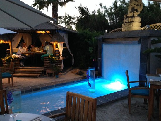 Blue Pearl : traumhaftes Ambiente