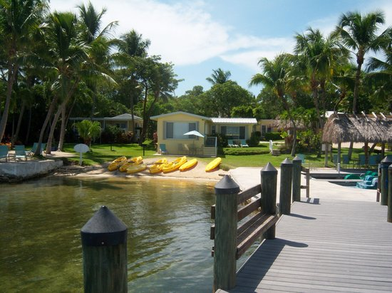 Bay Harbor Lodge: From the dock...