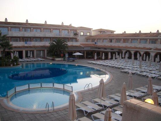 Blau Punta Reina Resort: Vu des chambres doubles avec balcon