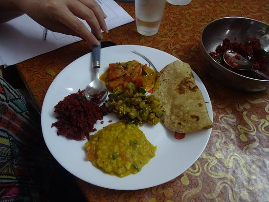 Flavour Cooking Class: Some of the delicious food Meera helped us cook