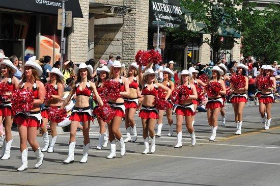 Calgary Stampede: Parade
