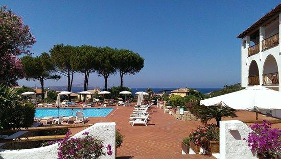 Hotel Cormorano: Hotel's pool area