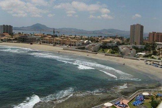 Servigroup Galúa : vista al mar mediterráneo y mar menor