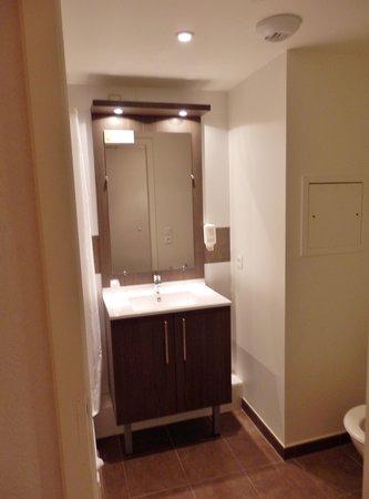Adagio Access Strasbourg Petite France: Le lavabo dans la salle de bain.