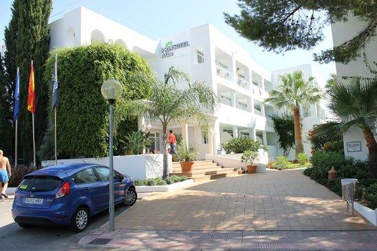 Prinsotel Alba Hotel Apartments: hotel