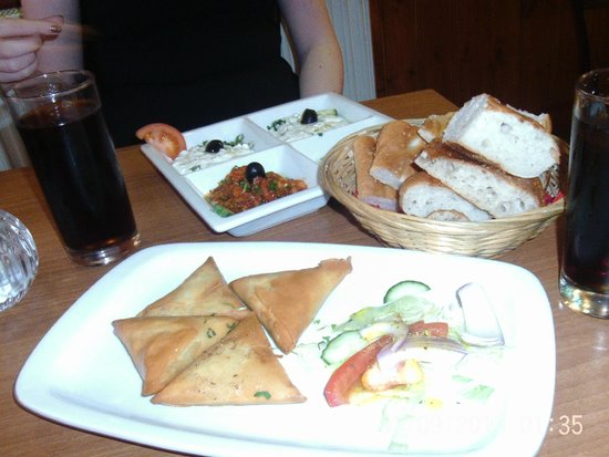 Shiraz Turkish BBQ restaurant: Starters Mixed Meze to share.