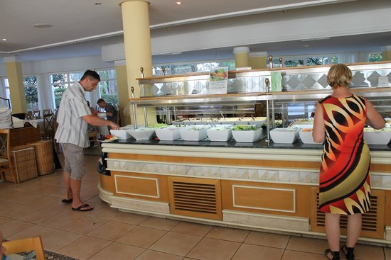 Prinsotel Alba Hotel Apartments: buffet