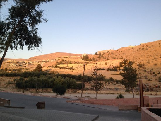 Petra Guest house Hotel: view from hotel