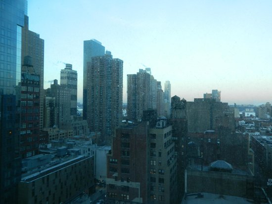 Row NYC Hotel : View from our room