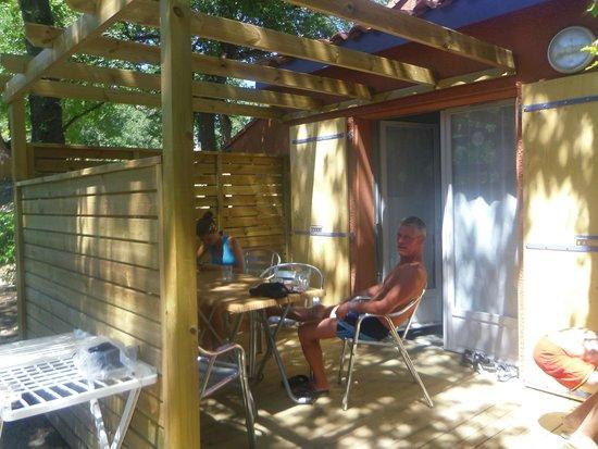 Camping Sunelia Le Bois Fleuri : notre bungalow