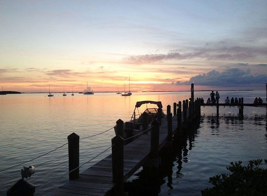 DiGiorgio's Cafe Largo: Picture Pefect Sunset