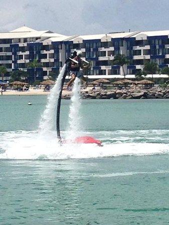 Body Jet Xtreme: Flyin' over Simpson Bay!