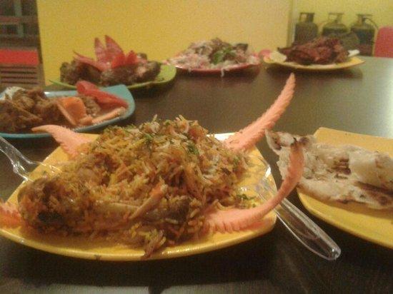 Charcoal Roast: Array of delicacies