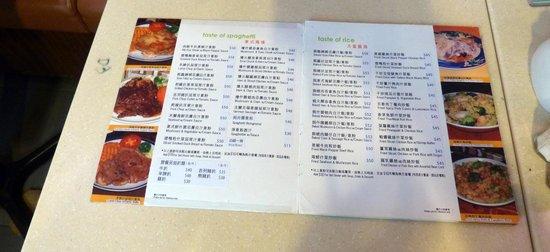 Tim\'s Kitchen menu on Jaffe Rd. - Picture of Tim\'s Kitchen, Hong ...