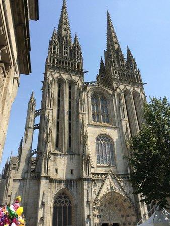 Cathedrale St-Corentin: Quimper 4