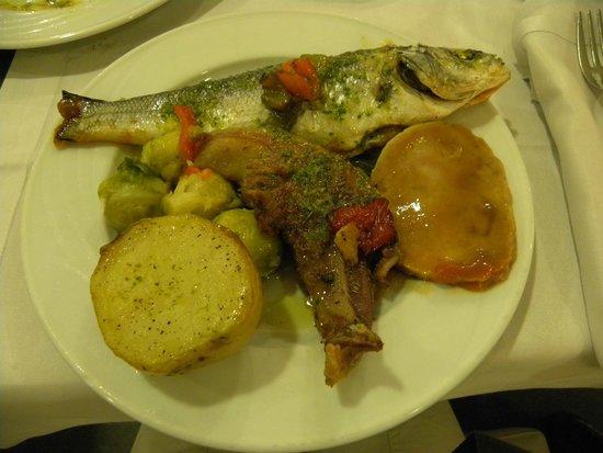 Hotel Augustus: Ужин