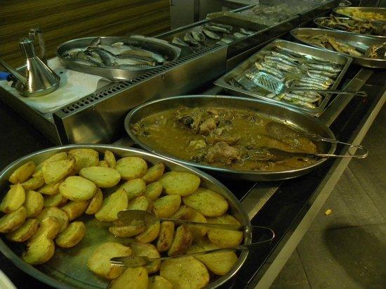 Hotel Augustus: Предложение рыбных блюд