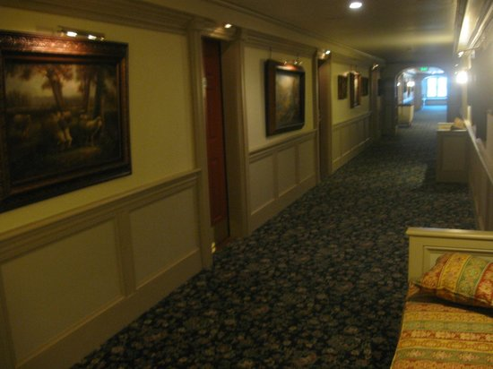 Mountain View Grand Resort & Spa: The corridors!!