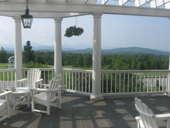Mountain View Grand Resort & Spa: The porch view